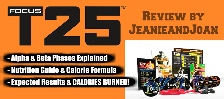 Focus T25 Nutrition Plan - Enough For EXTREME Results