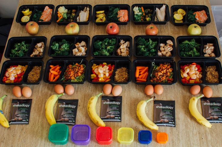 Meal Planning with Containers