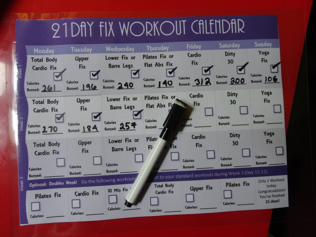 21 Day Fix Workout Routine: How Many Calories Do I Burn?