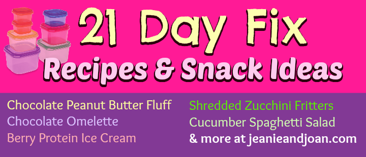 21 day fix recipe ideas