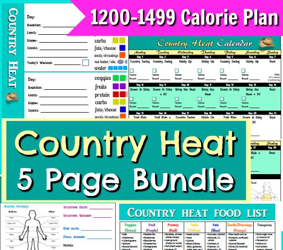 1200-1499 calorie bracket plan