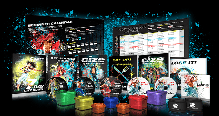 Deluxe Cize Kit Contents