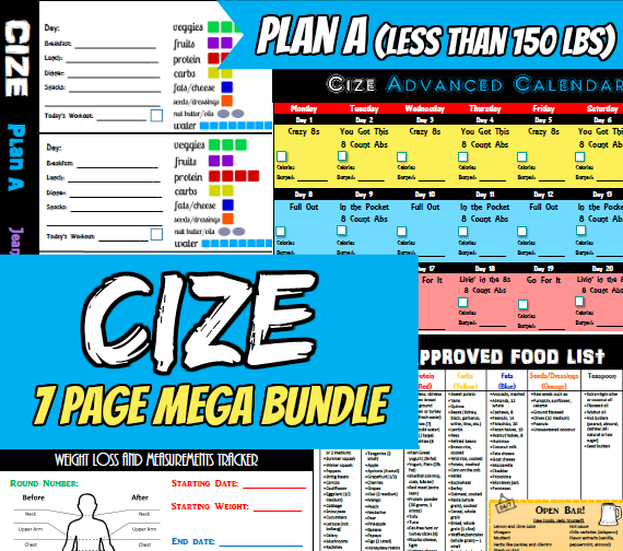 Cize Plan A Container Tally Sheets