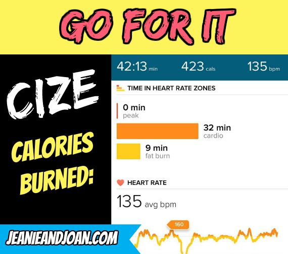 Go For It Cize Advanced Workout