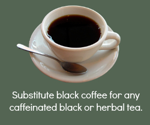 Black Coffee Substitution