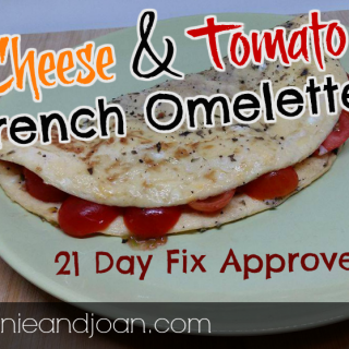 21 day fix cheese and tomato omelette recipe