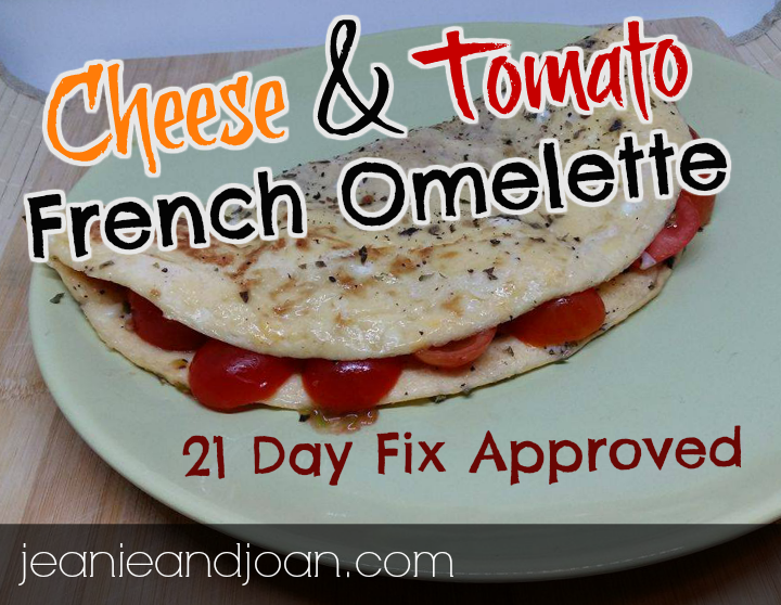 Cheese and tomato omelette recipe