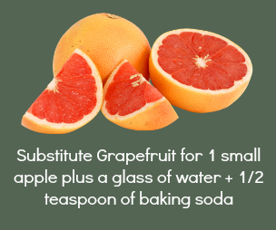 Grapefruit Substitution Baking Soda