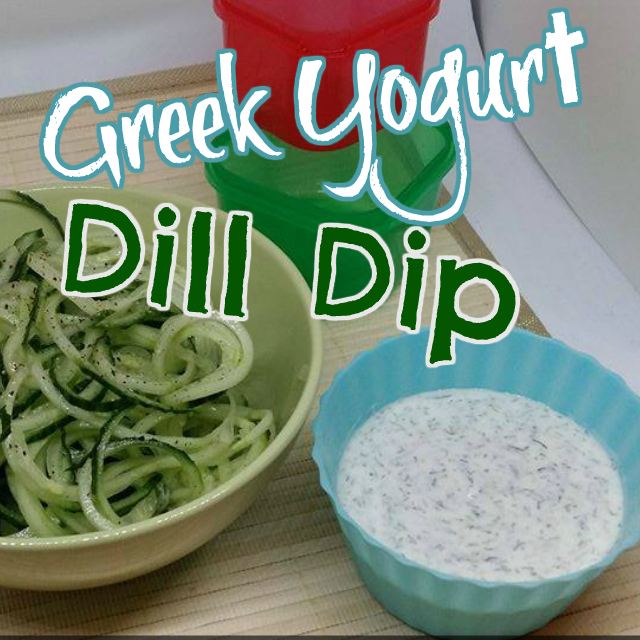 Healthy Low Fat Dill Dip