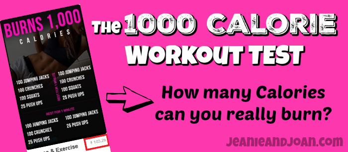 The 1000 Calorie Workout Test