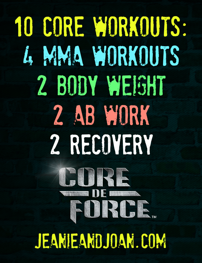 Mixed Martial Arts Core de Force Workouts