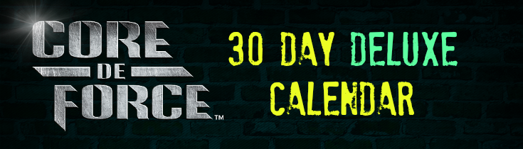 Core De Force Deluxe Workout Calendar