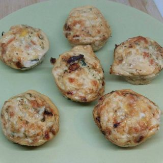 21 Day Fix Veggie Egg Muffins