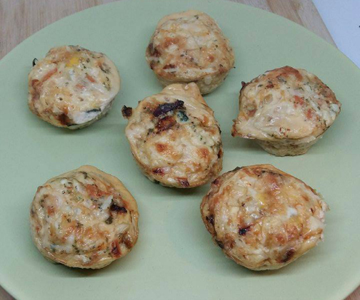 21 Day Fix Egg Muffins and Veggie Cups