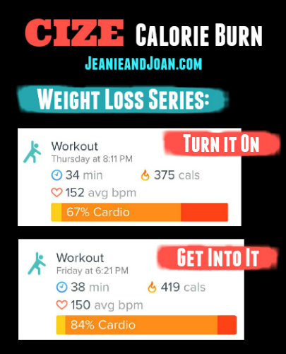 Cize Weight Loss Series Deluxe Workouts