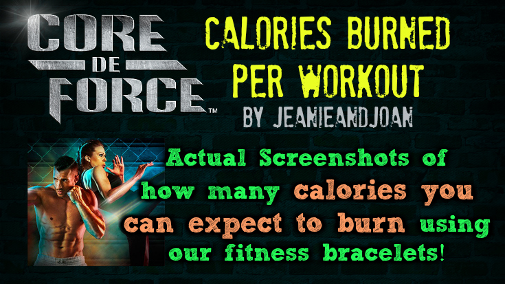 Core de Force Calories Burned