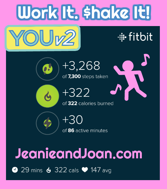Work it Shake It Calories Burned